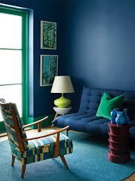 canap bleu p trole salon bleu pétrole bleu canard et bleu paon
