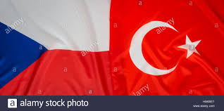 Czech Flag Czech Republic And Turkey Flag Stock Photo Royalty Free Image