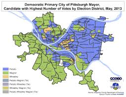 Pittsburgh Zip Code Map Election Pittsburgh Maps