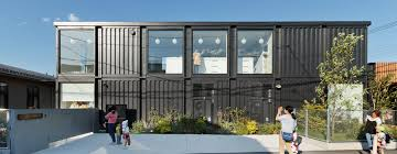 shipping containers convert into great homes core and peak