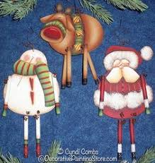 cc122 wynter kitties ornaments painting e pattern pinned by