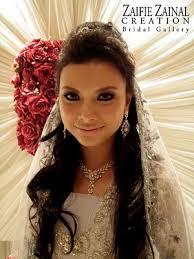 Makeup Tiar Zainal our rearview mirror wedding make up artist mua done