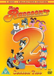 the raccoons season 2 dvd amazon co uk michael magee len