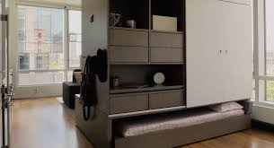 mit media lab designed an insane robotic furniture system ori 2 bedroom bed in