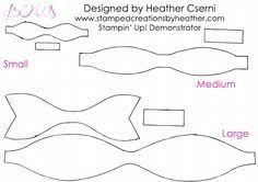 hair bow templates 27 images of felt bow template leseriail