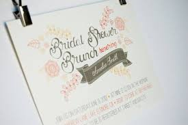 bridal brunch invitation 5 beautiful bridal brunch invitations wedding fanatic