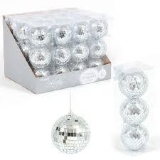 silver mirror ornaments