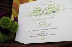 same wedding invitations michael daniel s custom wedding invitation suite united with