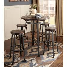boraam augusta 3 piece pub table set black sandthru hayneedle