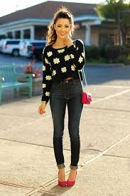 trendy ways to wear cropped sweaters 2018 fashiongum