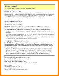 Resume Help For Teachers 11 How To Write A Proper Cv For Teachers Riobrazil Blog