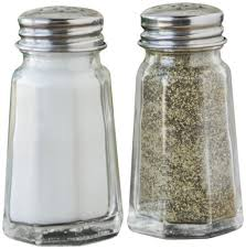 fox run 5608 salt and pepper set glass and stainless steel 3 inch