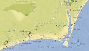 Myrtle Beach Map Coastal Nc Golf And Beach Community Coastal Nc Rivers Edge