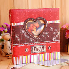 large scrapbook album wedding interleaf type fits 120 pcs 6 potos couples