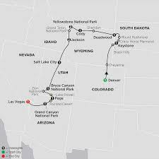 National Parks In Utah Map by National Park Tour Operators National Park Tour Packages Best