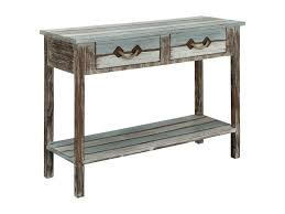 coast to coast console table coast to coast imports islander two drawer console table olinde s
