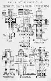 comparative plans of english gothic cathedrals a history of