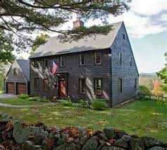 saltbox style home new england iconography in a 17th century style saltbox house dry