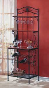 Metal Bakers Rack With Wine Storage Affordable Home Decor And Free Shipping At Bargain Bunch