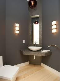bathroom ideas colors for small bathrooms grey wall color with corner vanities for small