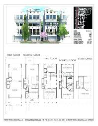 townhouse designs and floor plans four bedroom house floor plans