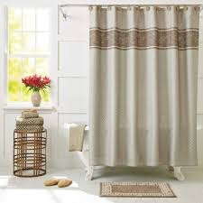 shower curtain lengths pink ruffle shower curtain blue grommet