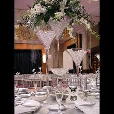 70cm Vase Vase Martini Mariage 70cm Centre De Table Original Badaboum