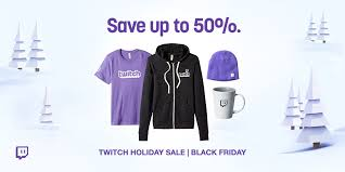 twitch holiday sale get discounts on games merch and bits
