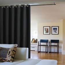 separateur de chambre panneau separateur de avec rideau occultant paravent partition