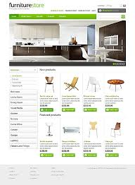theme furniture professional interior furniture website templates entheos
