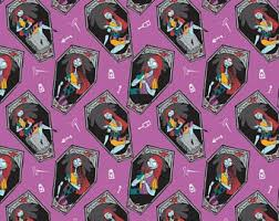 nightmare before christmas wrapping paper nightmare before christmas fabric skellington and