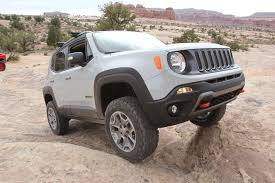 renegade jeep roof modded jeep renegade commander concept from moab ejs 2016 day 3
