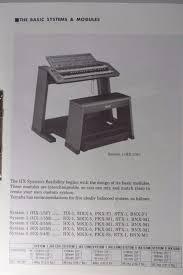 original yamaha electone hx 1 tone generator service manual