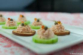 mousse canape keto smoked salmon mousse canapes keto canape