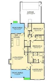 1st Floor Master House Plans Plan 15044nc Cottage For Narrow Lot Architectural Design House