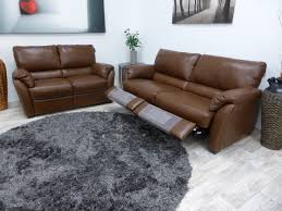 4 Seat Reclining Sofa by Leather Editions Taranto 3 Seater Recliner U0026 2 Seater Sofa