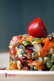 legume a cuisiner tartare de légumes accompagné de croustilles de patates douces