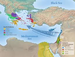 Blank Map Of Eastern Mediterranean by Mediterranean Maps Of Empires And Kingdoms Pinterest