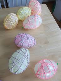 easy yarn easter egg tutorial u2013 six sisters u0027 stuff