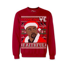 christmas sweaters kanye west christmas sweaters
