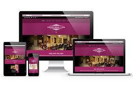 website design for nail spas