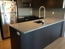 Kitchen Quartz Countertops Easy To Care Grey Quartz Countertops Home Inspirations Design
