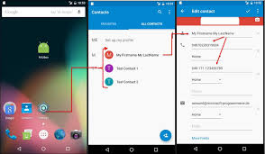 android listview exle android code android read contacts and store it in a listview