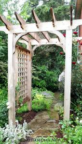 garden arbor plans interior wooden arbors plans outstanding garden arbor trellis and