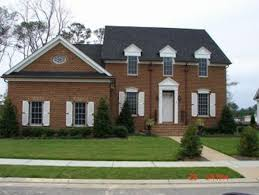 colonial home with first floor master 32547wp architectural