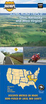 Map Of Ohio And Kentucky by Mad Maps Usrt120 Scenic Road Trips Map Of Ohio N Kentucky
