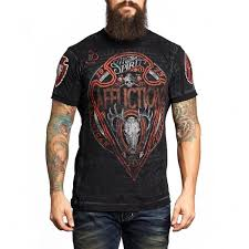 affliction american customs hunt black cowboys clothing