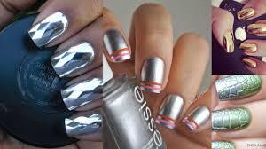 36 chrome nail designs nails nail colour accent nails chrome
