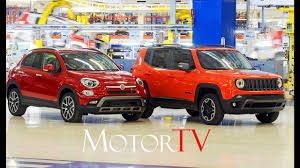 fiat jeep 2016 car factories 2016 jeep renegade u0026 fiat 500x assembly fca