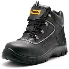 mens safety boots s3 steel toe cap work shoes ankle leather steel